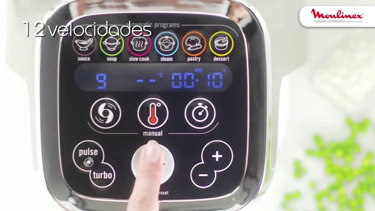 cuisine companion o robot multifun es da moulinex youtube. Black Bedroom Furniture Sets. Home Design Ideas