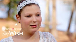 Download Steph Curry grants Ashley's selfless wish | My Wish | ESPN Archives Mp3 and Videos