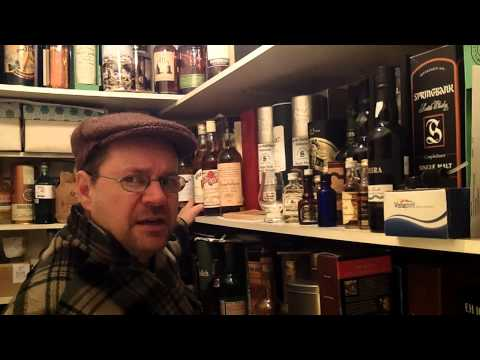whisky review 515 - looking after your whisky collection.