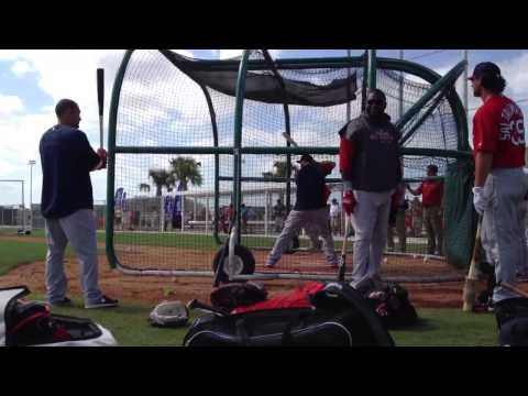 Lyle Overbay Jonny Gomes Shane Victorino David Ortiz Red Sox