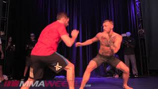 Conor McGregor UFC 202 Full Workout