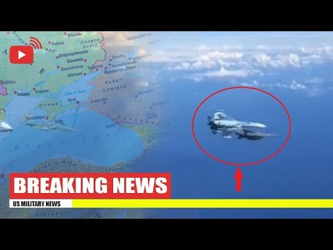 Russian Pilot Release Footage of Dangerously Intercept of US F-15 fighter Close to SU-27