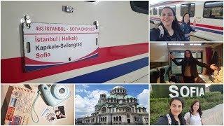 SOFYA EKSPRESİ DENEYİMİ | Trenle nasıl gidilir? | 1 Günde Sofya'da neler yaptık? | SOFYA VLOG