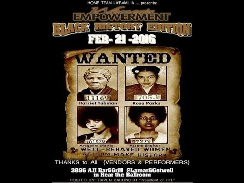 1st Event of 2016 Women Empowerment Black History Edition