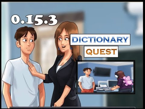 Summertime Saga Dictionary Quest | 0.16.1 | Miss Bissette |