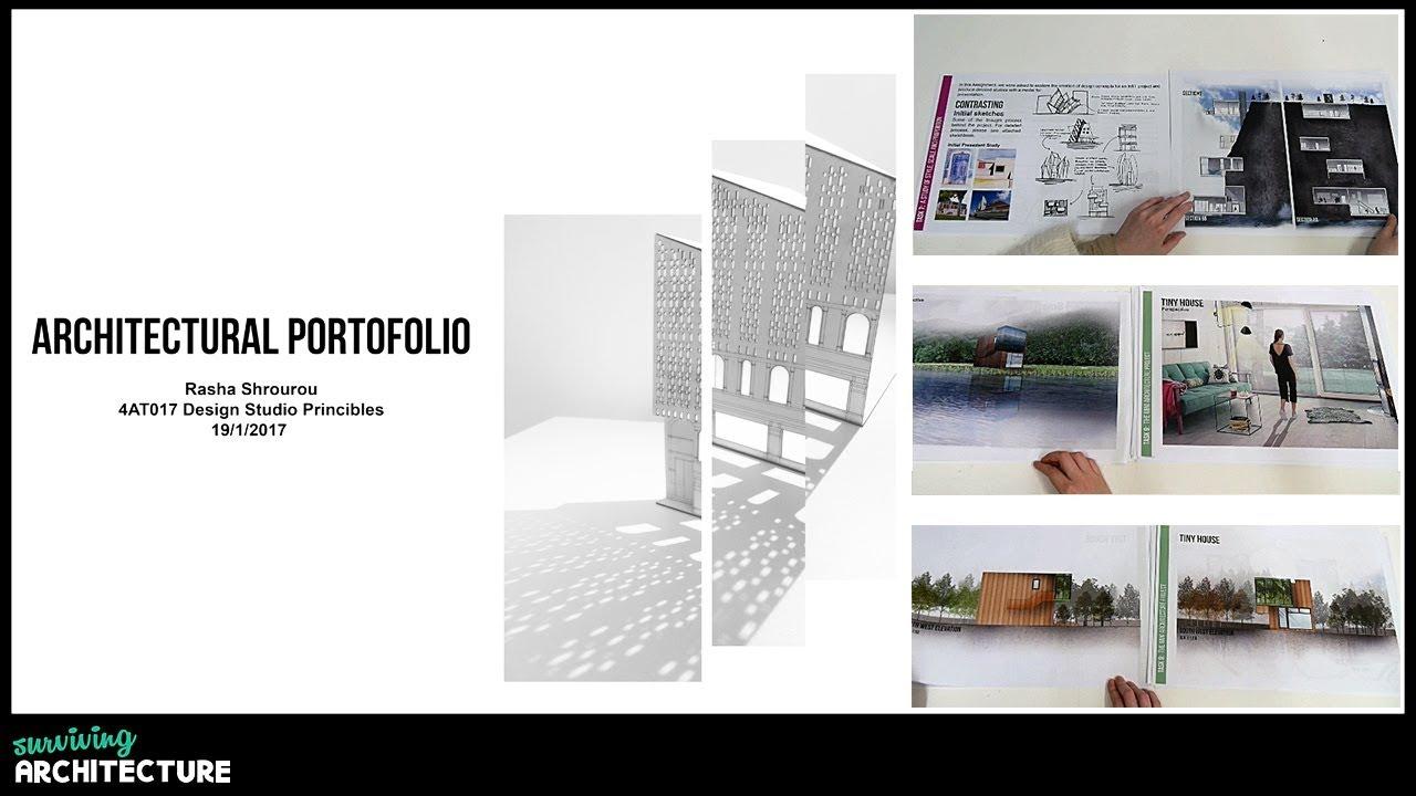 My Architectural Portfolio 1st Semester Architecture