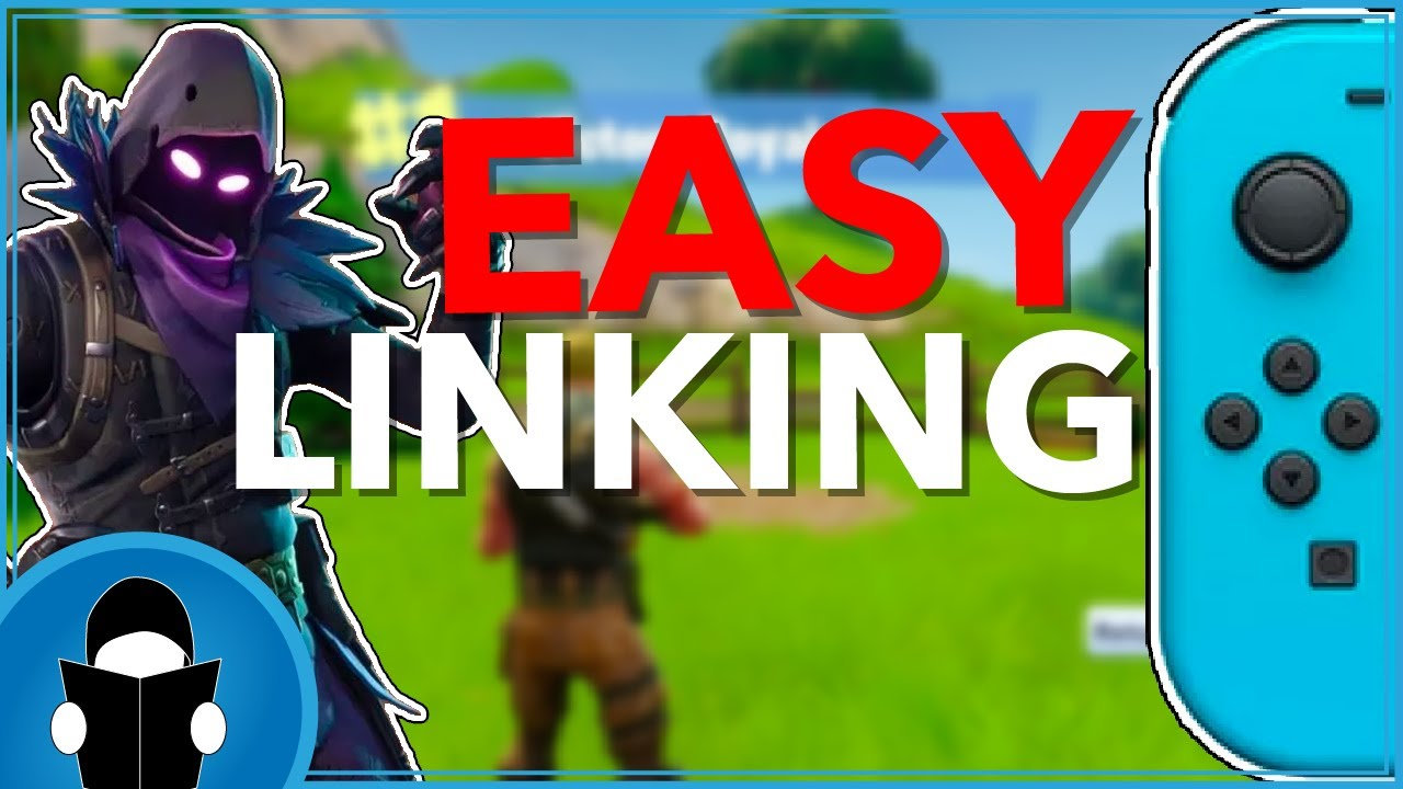 how to easily link your fortnite account to nintendo switch - how to link fortnite account to ps4 and switch