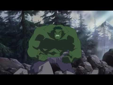 Hulk vs wolverine (first fight scene)
