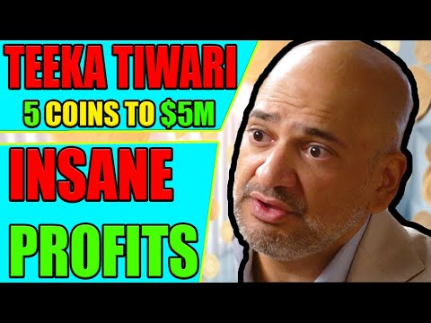 Which five coins in cryptocurrency is teeka talking about