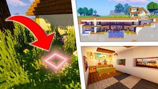 Как Построить Секретный Дом в Майнкрафт #21