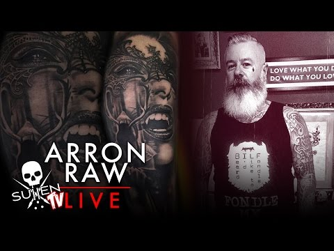 Sullen TV Tattoo Live Stream with Arron Raw