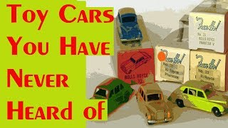 Toy Car You Have Never Heard Of – Video #259 – December 11th, 2017