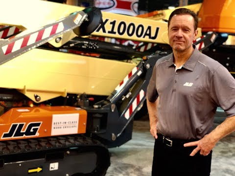See New JLG® Equipment and Technologies at The Rental Show 2018