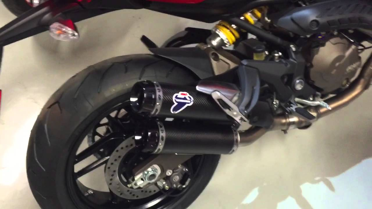 Ducati Monster   Termignoni Exhaust