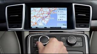 COMAND Navigation Destination Entry -- Mercedes-Benz USA Owners Support