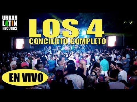 LOS 4 EN VIVO 2014 - CONCIERTO COMPLETO - LIVE EN GALIANO HABANA CUBA