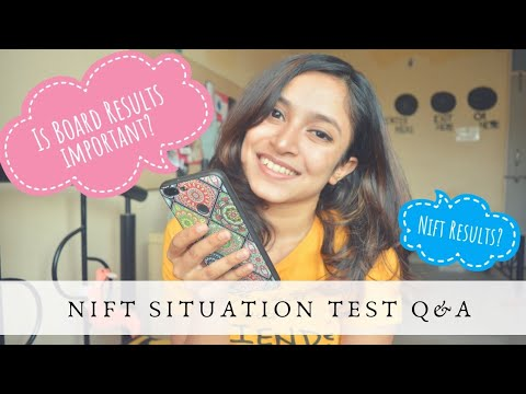 NIFT Situation Test Q&A || Board results, Last Year Questions and more || NIFT Entrance 2019