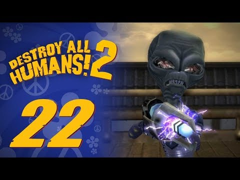Let's Replay Destroy All Humans! 2 (PS4) - Episode 22 - Tally-Ho Takoshima