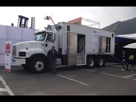 Camiones Lubricadores CARCO + International Faenas Mineras Alo Group | Expomin 2016
