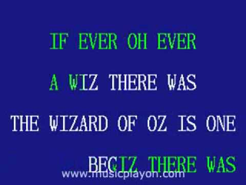 Wizard Of Oz - We're Off To See The Wizard