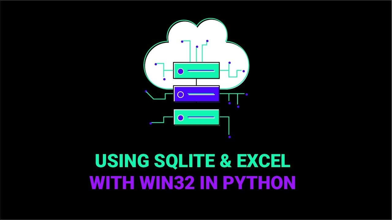 Using SQLite & Excel With Win32 In Python