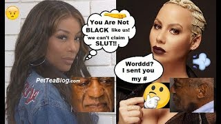K Michelle Checks Amber Rose For Talking Crazy About Bill Cosby, Amber Wants Smoke? ????