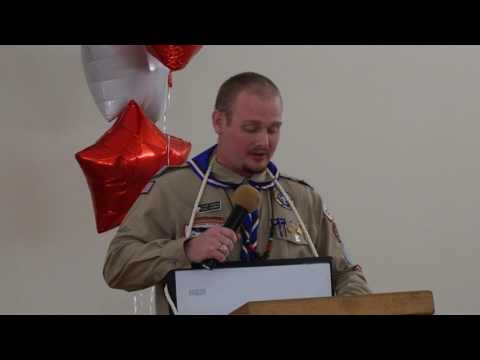 A message from our Eagle Scout Chairman at the 2017 Skyline District Dinner.