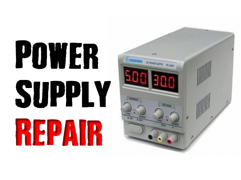 How To Repair A Power Supply Bench Lab Version Youtube