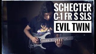 Schecter C-1 FR S SLS Evil Twin - Satin Black