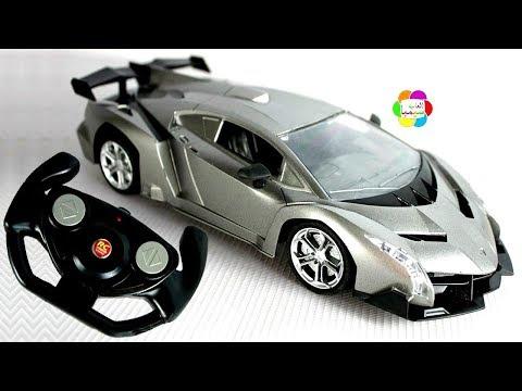 لعبة سيارة السباق الفضية الجديدة بالريموت بنات واولاد اجمل العاب الاطفال السيارات racing car toy