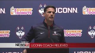 UConn Football coach Bob Diaco relieved of coaching duties