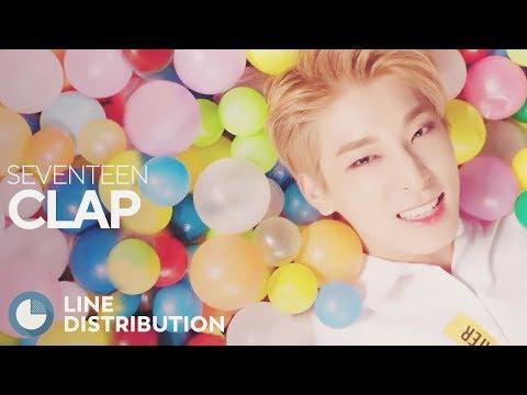 SEVENTEEN - Clap (Line Distribution)