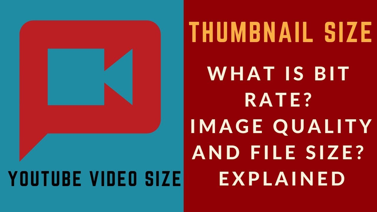 What is Bit Rate? Image Quality and File Format Explained Full Here