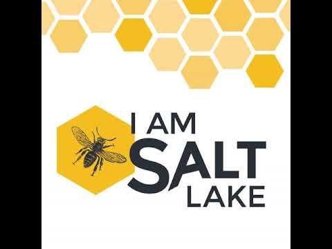 I am Salt Lake #291 - Zell Lee, artist - Asana Natural Arts