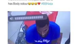 BBNAIJA2019 MIKE SAID TACHA HAS BODY ODOUR
