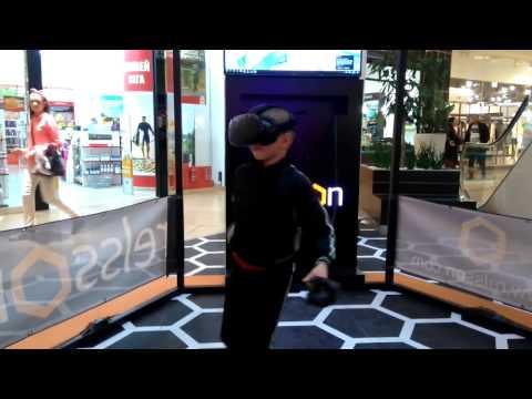 Slashing fruits like a true ninja warrior - VR Fruit Ninja (HTC ViVe)