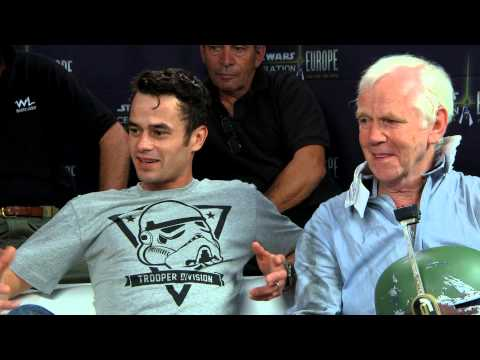 The Five Fetts Interview with Warwick Davis | Star Wars Celebration Europe