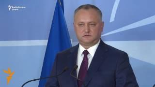 """Igor Dodon nu e de acord cu """"prezența unor militari străini pe teritoriul RM"""""""