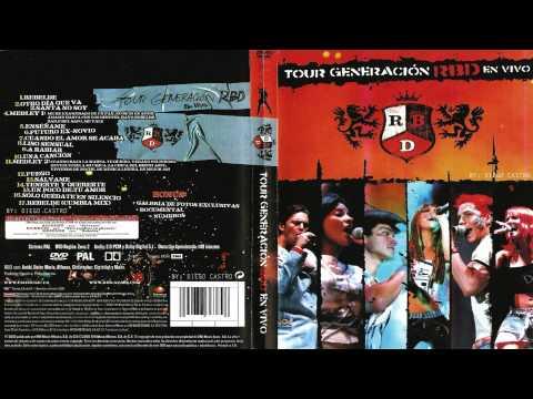 RBD  Tour Generación México Versión DVDR Download