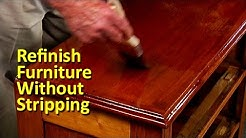 Refinish Furniture Without Stripping