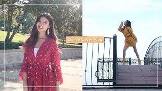 Dance cover filming vlog (Hyuna Flower Shower, G-I-DLE Lion) | @susiemeoww