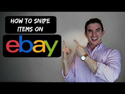 eBay Tips and Tricks - How To Snipe Items For Cheap
