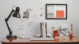 DIY/ Декор и организация рабочего стола/ Мой рабочий стол