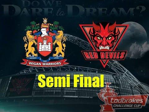 Ladbrokes Challenge Cup Quarter-Final- Salford Red Devils v Wakefield Trinity, 15.06.17
