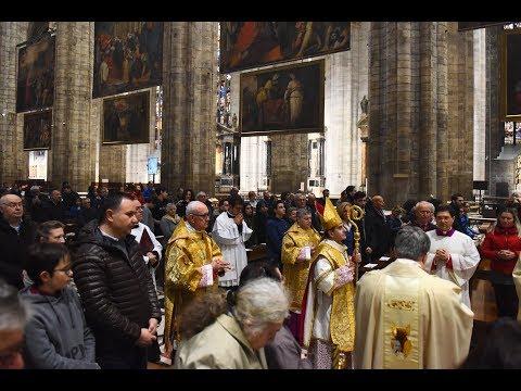 1 novembre 2018 Ognissanti, il Pontificale in Duomo (ChiesaTV canale 195)