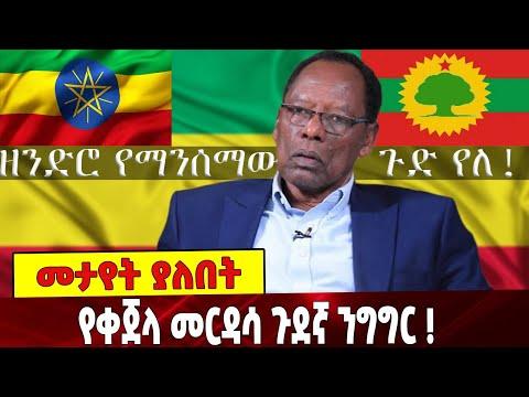 Download #Ethiopia ዘንድሮ የማንሰማው ጉድ የለ! የቀጀላ መርዳሳ ጉደኛ ንግግር !   Kejela Merdasa   Ethiopian Flag   28 August 2021
