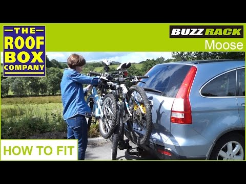 BUZZ RACK Moose tow ball bike carrier - HOW TO FIT - YouTube 6cc271da0dc2