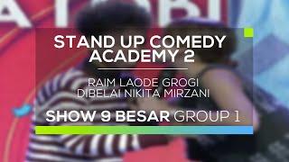 Video Raim Laode Grogi Dibelai Nikita Mirzani (SUCA 2 - 9 Besar Group 1) download MP3, 3GP, MP4, WEBM, AVI, FLV Oktober 2017