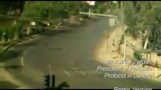 Pakistan President Mr.Asif Ali Zardari Protocol in Lahore