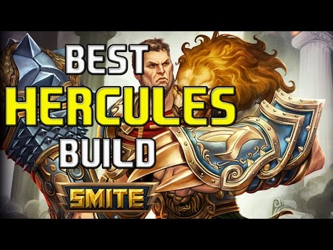 BODY BUILDING BULLY! | My Best Hercules Sustain and Damage Build | Smite